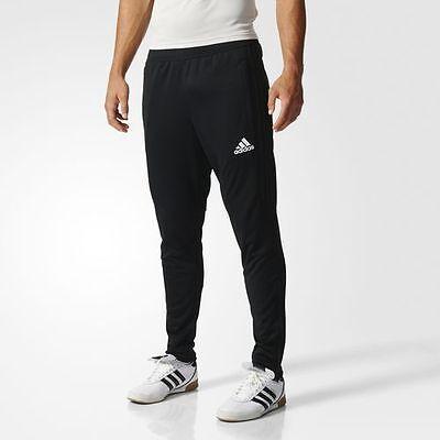 New Adidas Tiro 17 Mens Training Pants Climacool   Soccer Black   White Bk0348
