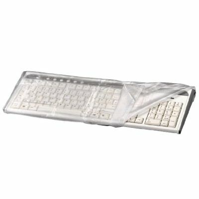 Hama Staubschutzhaube Tastatur transparent 480x220mm Tastaturabdeckung Schutz