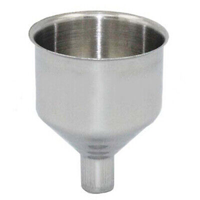 Universal Stainless Steel Funnel For Filling Small Bottles and Flasks Call