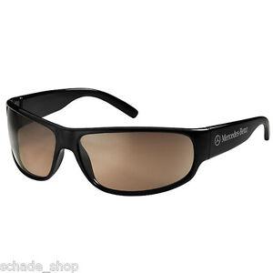Original Mercedes Sonnenbrille Herren schwarz Kunststoff Zeiss Gläser B67870174
