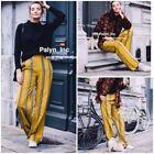 Palazzo Yellow Pants for Women