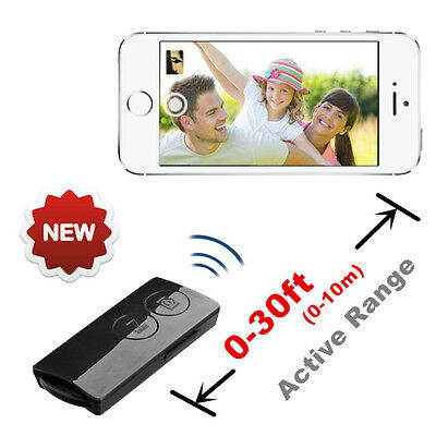Bluetooth Selfie and Music Remote Control For iPhone 4 4S 5 5S 6 6+ iPad