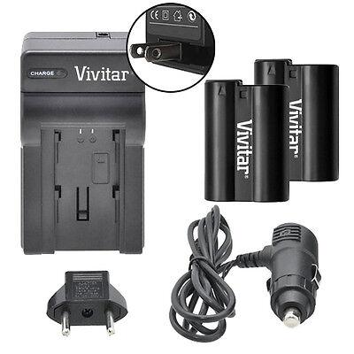 Vivitar Dual Battery EN-EL15 & Charger Kit for Nikon D800 D8