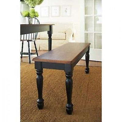 Kitchen Bench Wood Dining Room Furniture Seat Accent Entryway Wooden Benches Oak