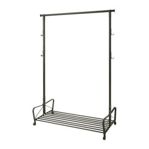 ikea clothes rail ebay. Black Bedroom Furniture Sets. Home Design Ideas