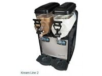 Kream line slush machine 2x6ltr.,..,__-cash and collection.,.,_--buy from htsweets.,.,come fast,,
