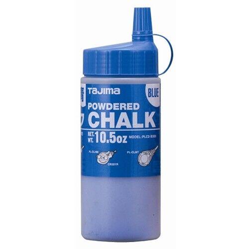 Tajima PLC2-B300 CHALK-RITE Ultra-Fine, blue, with easy-fill nozzle, 10.5 oz.