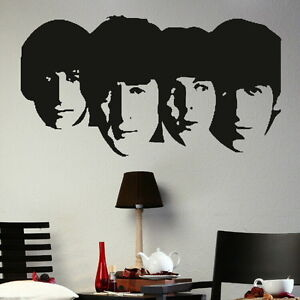 THE-BEATLES-LENNON-RINGO-wall-graphic-giant-tattoo-picture-print-decal-nic1