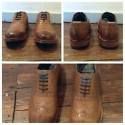 Mens Tan Brogues