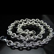 Thick Sterling Silver Chain