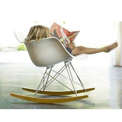 Eames Molded Plastic Chair Armchair RAR w/Rocker Base ()