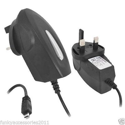 MICRO ALIMENTATORE USB Caricatore DEL TELEFONO CELLULARE PER ZTE BLADE x 5