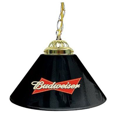 Budweiser pool table lampebay 1 pool table lamp shade budweiser black hanging bar lights billiard man cave decor mozeypictures Gallery