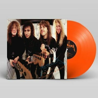 Metallica  5 98 Ep   Garage Days Re Revisited   Brand New Orange Record Lp Vinyl