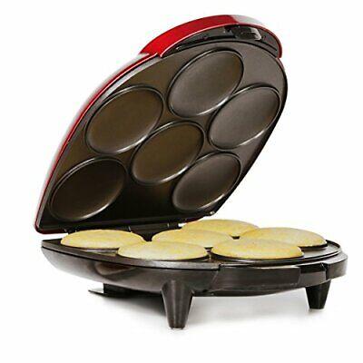 Holstein HU09005RM Housewares Arepa Maker Metallic Red