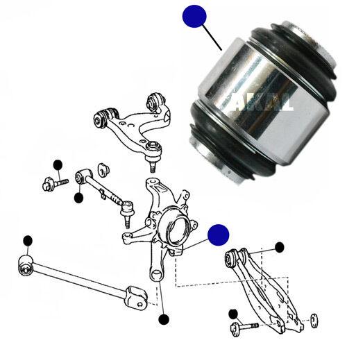 LEXUS IS200 IS300 99-05 REAR ARM WHEEL HUB CARRIER STUB KNUCKLE ROSE BUSH x1