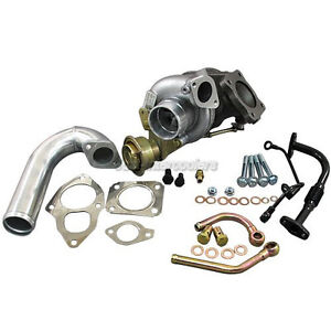 CXRacing TD05 TD05H 20G TURBO Charger + J Pipe For 89-99 ECLIPSE 4G63  4G63T DSM