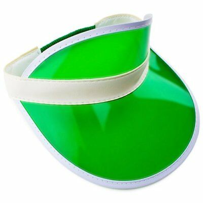Official Green Casino Style Dealer's Visor - Casino Style