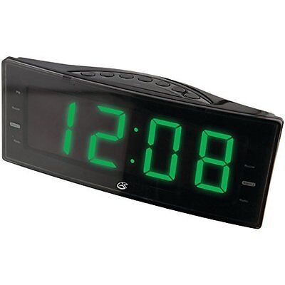 Bestselling AM/FM Clock Radio with Dual Alarms and Green LED Display -