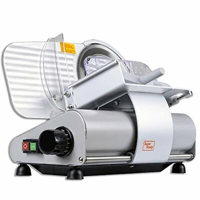Superhandy Meat Slicer Meat Deli Cheese Food Commercial Elite Electric Stainl...