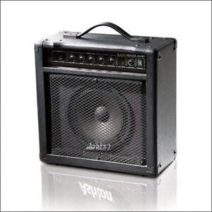 ASHTON BA20 20 WATT ELECTRIC BASS GUITAR / ELECTRONIC DRUMKIT AMPLIFIER AMP NEW