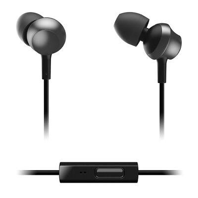 PANASONIC IN-EAR HEADPHONES WITH REMOTE & MIC - BLACK - RPTCM360EK