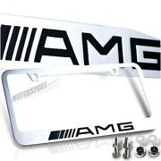AMG License Plate