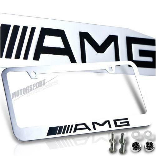 Amg License Plate Ebay