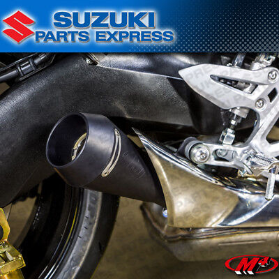 2016 2017 SUZUKI GSX-S1000 GSXS GSX-S 1000 M4 BLACK GP SLIP ON MUFFLER EXHAUST