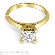 Princess Cut Genuine Diamond Ring