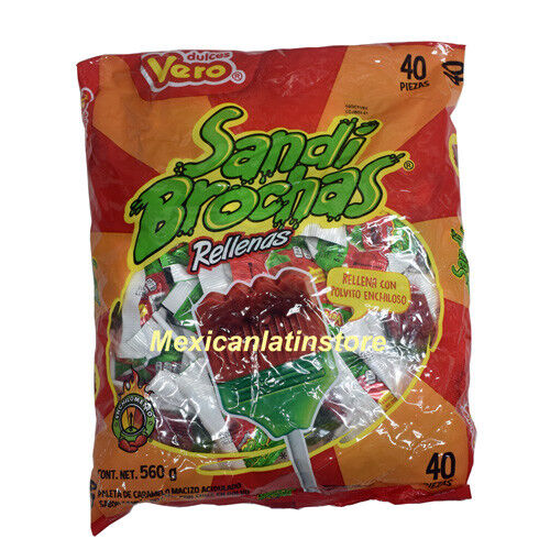 Vero Sandi Brochas 40-ct bag Filled with powder chili Net wt 1-lb 3-oz
