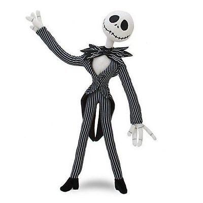 Disney Nightmare Before Christmas Jack Skellington Poseable Plush Toy Halloween
