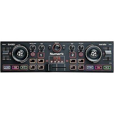 Numark DJ2GO2 Pocket Double Deck DJ Controller - Black