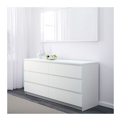 ikea white kullen chest of drawers in hackney london. Black Bedroom Furniture Sets. Home Design Ideas