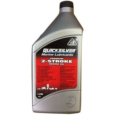 1 Litre Quicksilver Premium TCW3 2-Stroke Oil for Mercury Mariner Outboard 1L