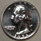 Proof 1953 Washington Quarters (1932-1998)