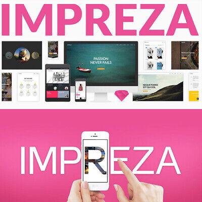 Impreza Multi-purpose Wordpress Theme Premium Plugin Latest - Version
