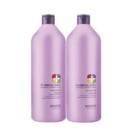 Pureology Hydrate Shampoo and Conditioner Duo/Set 33.8oz  1