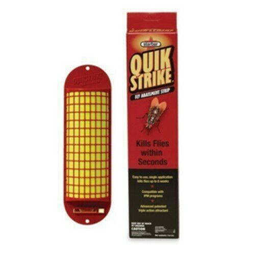 Starbar 9225100 QuickStrike Fly Abatement Strip, Twin Pack.