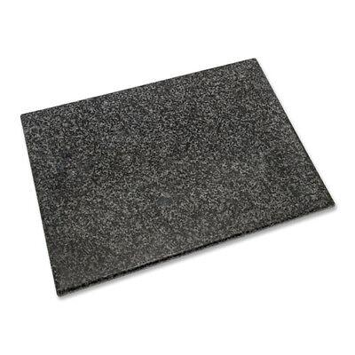 Granit Schneidebrett schwarz-grau 40 x 30 x 1,5 cm Küchenbrett Tranchierbrett