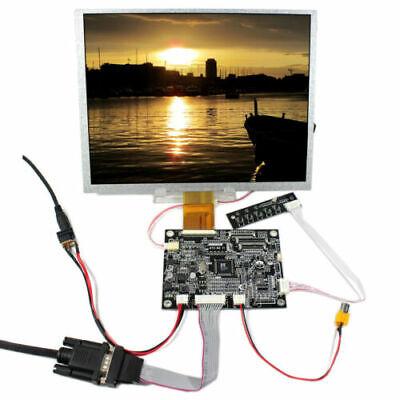 Vga Av Lcd Controller Board 10.4 Lsa40at9001 Lcd Screen 800x600 For Raspberry