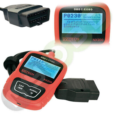 iCarsoft i620 Bluetooth Diagnosegerät OBD2 für Porsche Renault Saab Fiat Ford ..