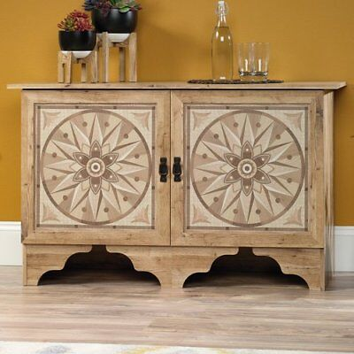 2 Door Dining Room Sideboard (Antigua Chestnut Sideboard Credenza Storage Cabinet Console Table 2 Doors  )
