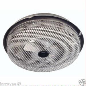 Ceiling fan heater ebay broan heaters wire element 1250w ceiling fan forced heater metallics 157 aloadofball Gallery