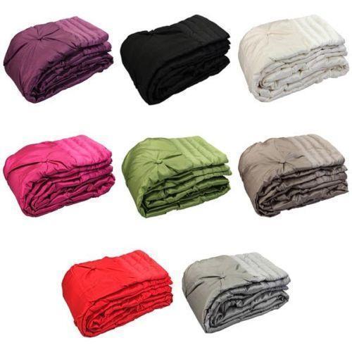 Silk Bed Throw Ebay