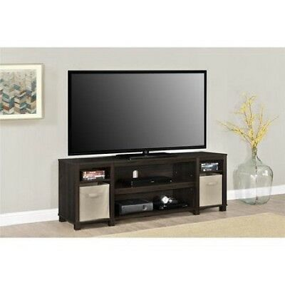 Console Home Entertainment Center - TV Console Stand 65 Inch Media Entertainment Center Home Theater Wood Storage