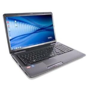 TOSHIBA SAT L675D-S7052 AMD 2.90GHZ 4GB 250GB webcam WIN7 139$