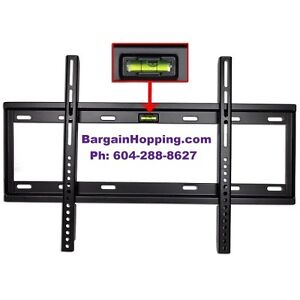 "32- 60"" Vivitar Low Profile Plasma LCD LED TV Wall Mount Bracket"