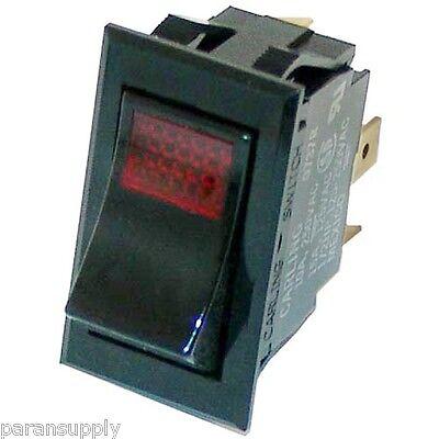 New Power Switch Carter-hoffman Part 18602-0055 18602-0056 Rocker 3 Terminals
