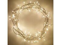 100 LED Warm White Fairy Lights With Transformer - Brand New - Kilmarnock Area